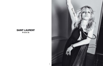 Saint Laurent SS 2013 Courtney Love