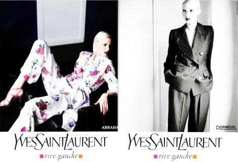 Yves Saint Laurent Rive Gauche SS 1995