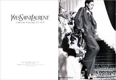Yves Saint Laurent SS 1979