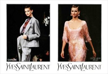 Yves Saint Laurent SS 1994
