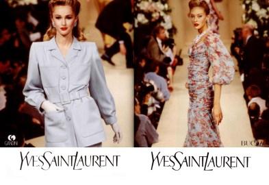 Yves Saint Laurent SS 1996