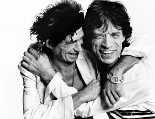 Keith Richards & Mick Jagger, British Vogue   2003