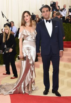 Rose Byrne in Ralph Lauren and Bobby Cannavale