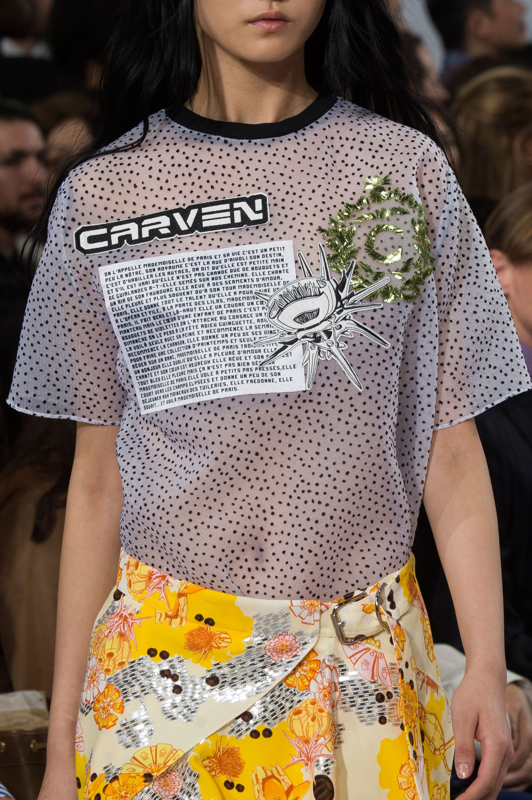 Carven clp RS17 0582