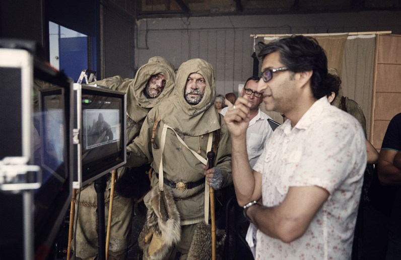 Asif Kapadia Behind-the-Scenes