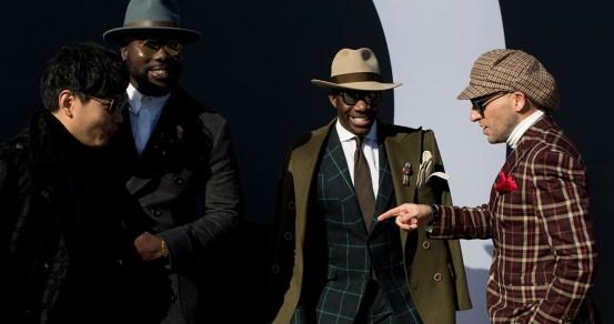 Firenze Pitti Uomo Men's Street Style Fall 2017 | Day 2
