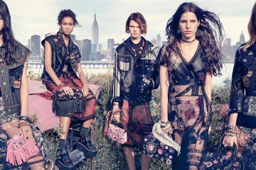 Fabien Baron and Stuart Vevers Find Beauty in the American Junkyard in Coach's Spring 2017 Campaign