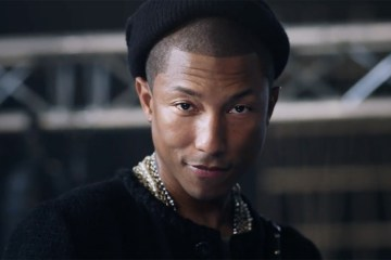 Fourth Installment of the Gabrielle Series Stars Music and Fashion Icon Pharrell Williams Channeling Coco Chanel