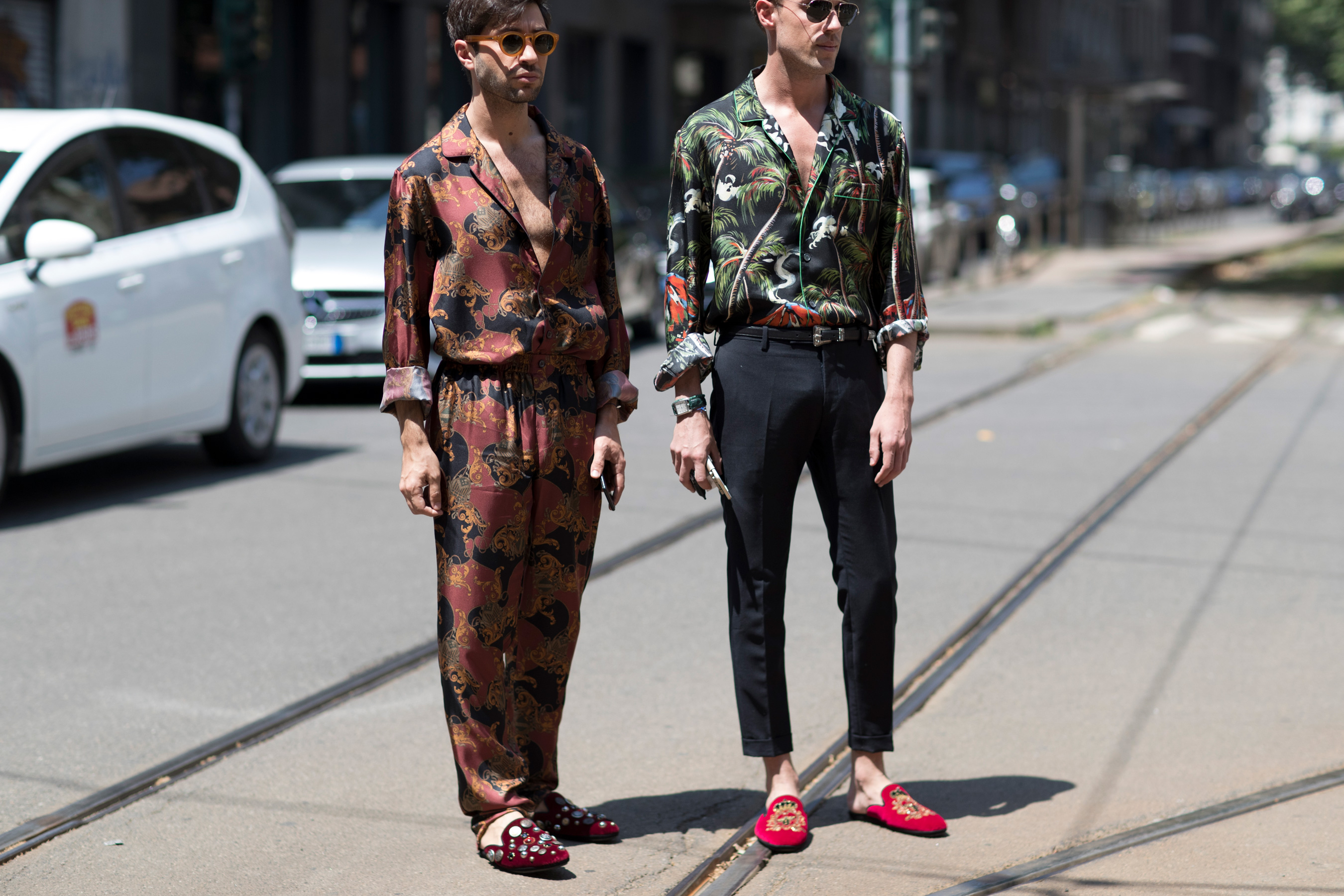 Milan Fashion Week Men 39 S Street Style Spring 2018 Day 1