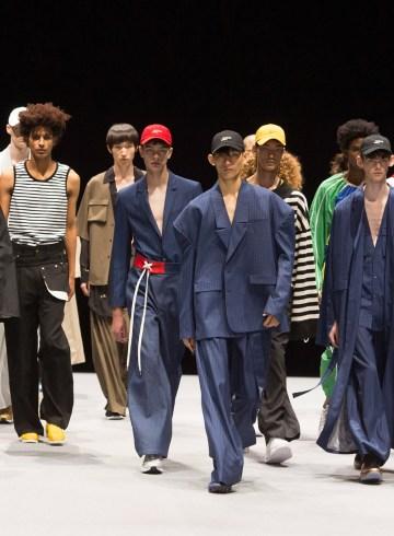 Munsoo Kwon Spring 2018 Men's Fashion Show