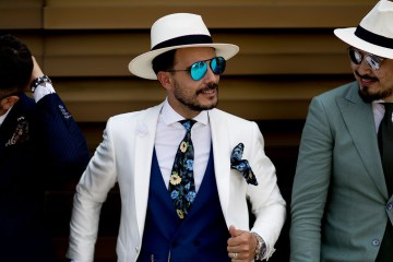 Firenze Pitti Uomo Fashion Week Men's Street Style Spring 2018 Day 2