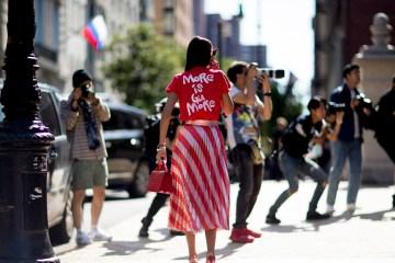 New York Fashion Week Street Style Spring 2018 Day 3