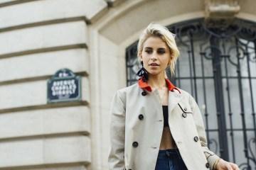 Paris Fashion Week Street Style Spring 2018 Day 2 Cont.