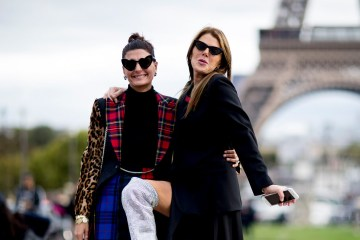 Paris Fashion Week Street Style Spring 2018 Day 7