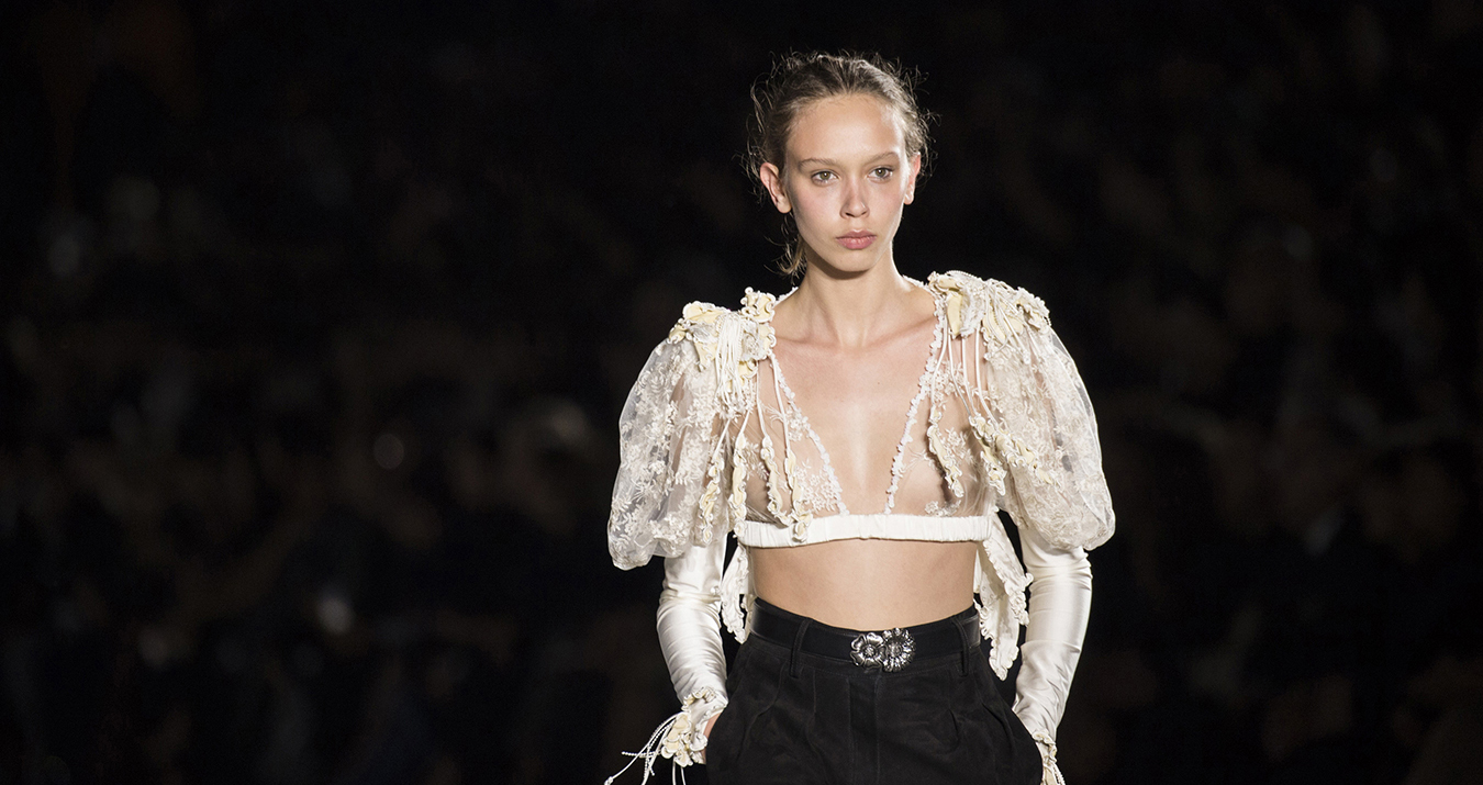 Fashion Trends, Sexy Sheer Spring 2018