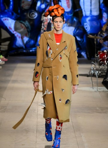 Charles Jeffrey Loverboy Fall 2018 Men's Fashion Show