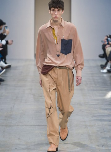 Federico Curradi Fall 2018 Men's Fashion Show