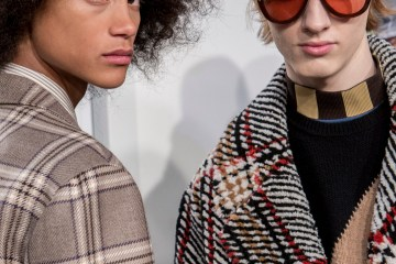 Fendi Fall 2018 Men's Fashion Show Backstage