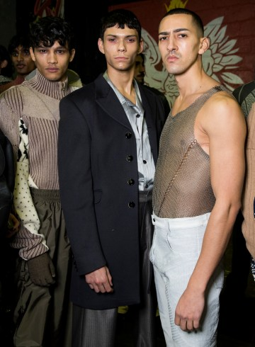 GMBH Fall 2018 Men's Fashion Show Backstage