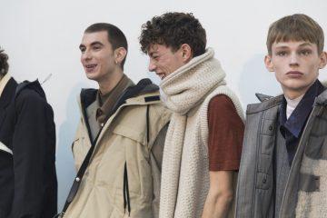 Lanvin Fall 2018 Men's Fashion Show Backstage