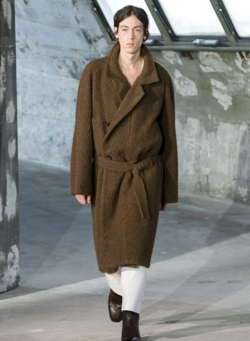 Lemaire Fall 2018 Men's Fashion Show