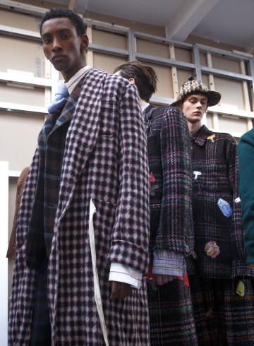 Marni Fall 2018 Men's Fashion Show Backstage