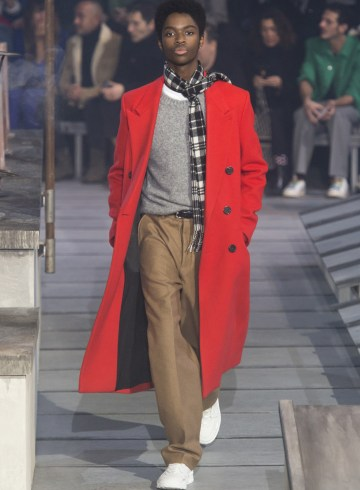 Ami Alexandre Mattiussi Fall 2018 Men's Fashion Show