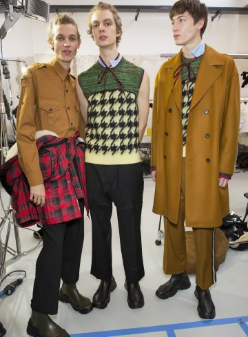 No. 21 Fall 2018 Men's Fashion Show Backstage