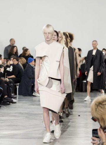 Rick Owens Fall 2018 Men's Fashion Show Atmosphere