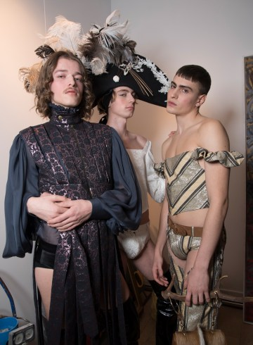 Palomo Spain Fall 2018 Men's Fashion Show Backstage