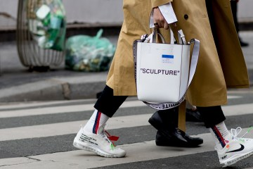 Paris Fashion Week Men's Street Style Fall 2018 Day 1