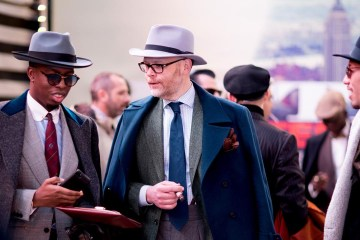 Firenze Pitti Uomo Fashion Week Men's Street Style Fall 2018 Day 1