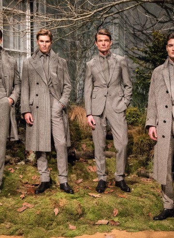 Ralph Lauren Purple Label Fall 2018 Men's Fashion Show