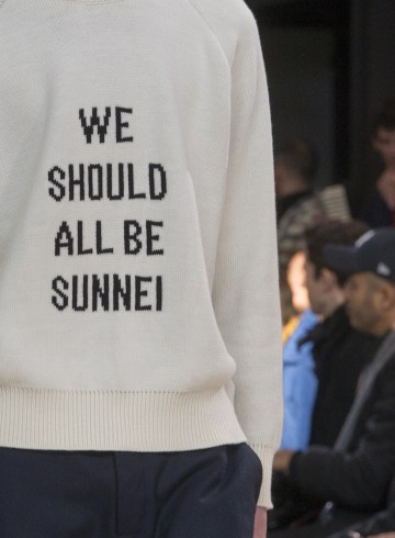 Sunnei Fall 2018 Men's Fashion Show Details