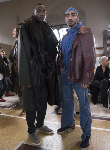Y Project Fall 2018 Men's Fashion Show Backstage