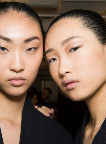 Alexander Wang Fall 2018 Fashion Show Beauty