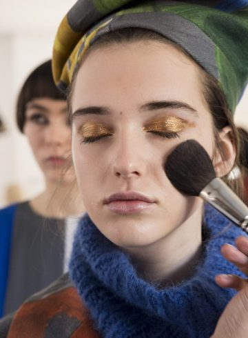 Arthur Arbesser Fall 2018 Fashion Show Backstage