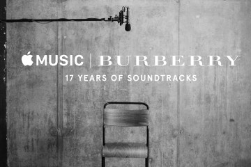 Burberry Pays Tribute to its 17 Years of Soundtracks
