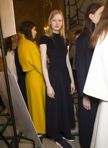 Jasper Conran Fall 2018 Fashion Show Backstage