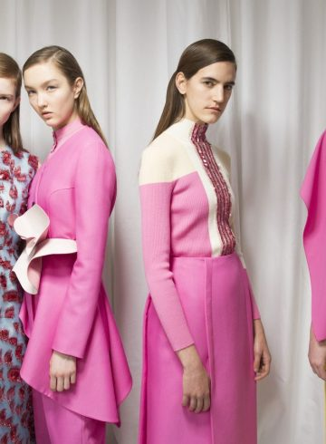 Delpozo Fall 2018 Fashion Show Backstage