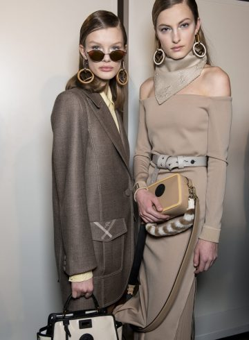Fendi Fall 2018 Fashion Show Backstage
