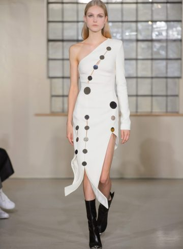 David Koma Fall 2018 Fashion Show