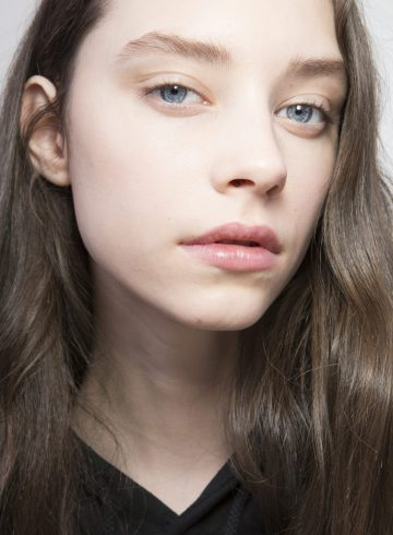 Lanvin Fall 2018 Fashion Show Backstage Beauty