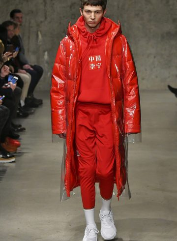 Li Ning Fall 2018 Men's Fashion Show