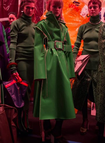 Marni Fall 2018 Fashion Show Backstage