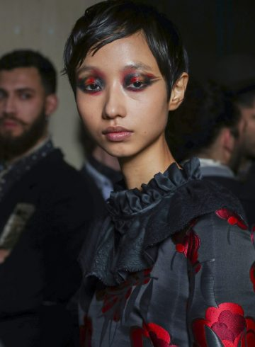 Antonio Marras Fall 2018 Fashion Show Backstage Beauty