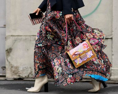 Milan Fashion Week Street Style Fall 2018 Day 3 Cont.