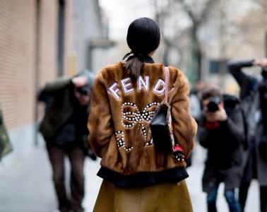 Milan Fashion Week Street Style Fall 2018 Day 2
