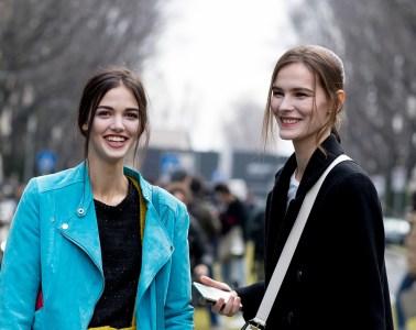 Milan Fashion Week Street Style Fall 2018 Day 4
