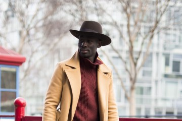 New York Fashion Week Men's Street Style Fall 2018 Day 2